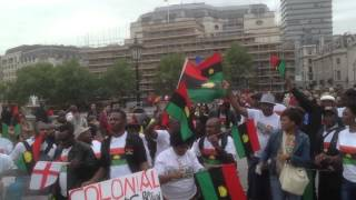 Biafra London Rally