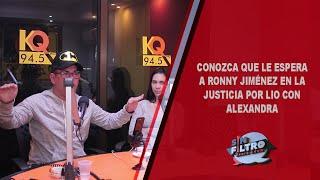 Conoce que le espera a Ronny Jiménez en la justicia por lio con Alexandra!!!