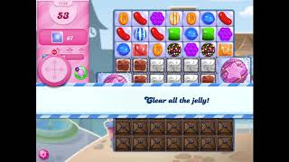 How to beat level 1156 on Candy Crush Saga!!