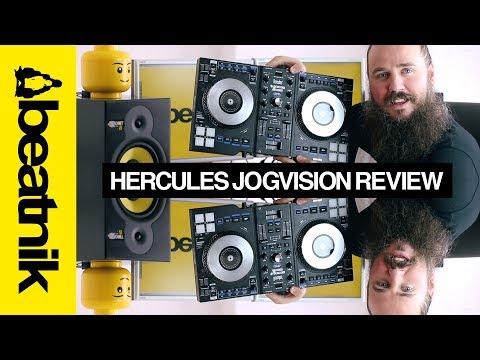 Hercules Jogvision Review - Best Beginner DJ Controller