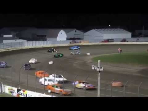 10-25-14 4 Cylinder B Main  Lee County Speedway