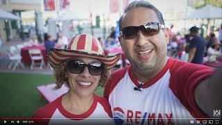 RE/MAX family at Angels stadium
