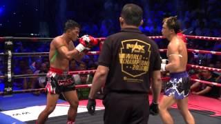 (JAPAN VS THAILAND) Max Muay Thai Ultimate 2016 Match 3 SHIGERU  VS  KITTISAK