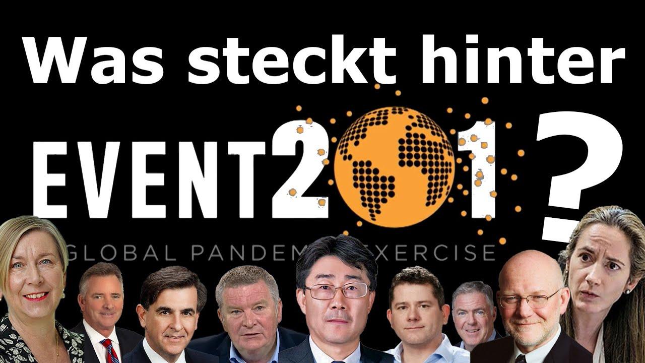 Event 201: Corona-Pandemie vom Reissbrett - was bisher übersehen wurde