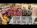 Wrecking Crew Guitarist Louie Shelton playing a 1988 Gibson ES-175D at Norman's Rare Guitars