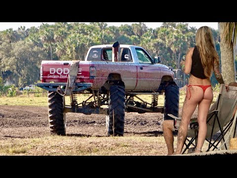 Mud Trucks Gone Wild -Okeechobee Muddy Valentines