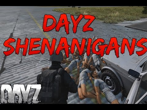 DayZ Standalone Shenanigans- Flying cars, Glitches, Funny moments
