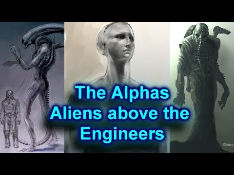The Alphas - A story to fix the Alien Franchise - Those above the Engineers (Theory) Part One