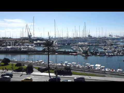 WATERFRONT IN PALMA, MAJORCA - 11.10.2014