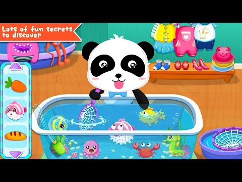Baby Panda Games   Baby Panda's Supermarket   Explore And Find & Learn And Have Fun   TwinkleStarsTV