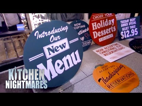 Gordon Ramsay Amazed At Owners Attempt To Bring New Customers | Kitchen Nightmares