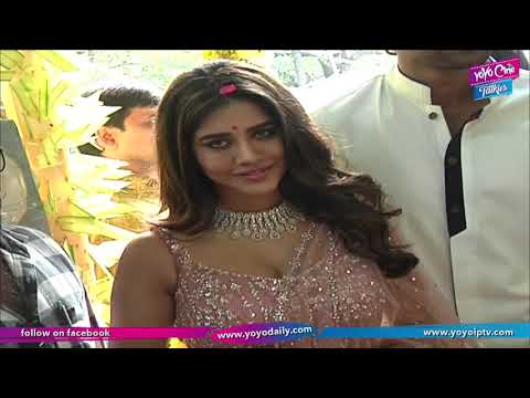 Bellamkonda Sai Sreenivas Movie Opening| Nabha Natesh | Director Santosh Srinivas |YOYO Cine Talkies