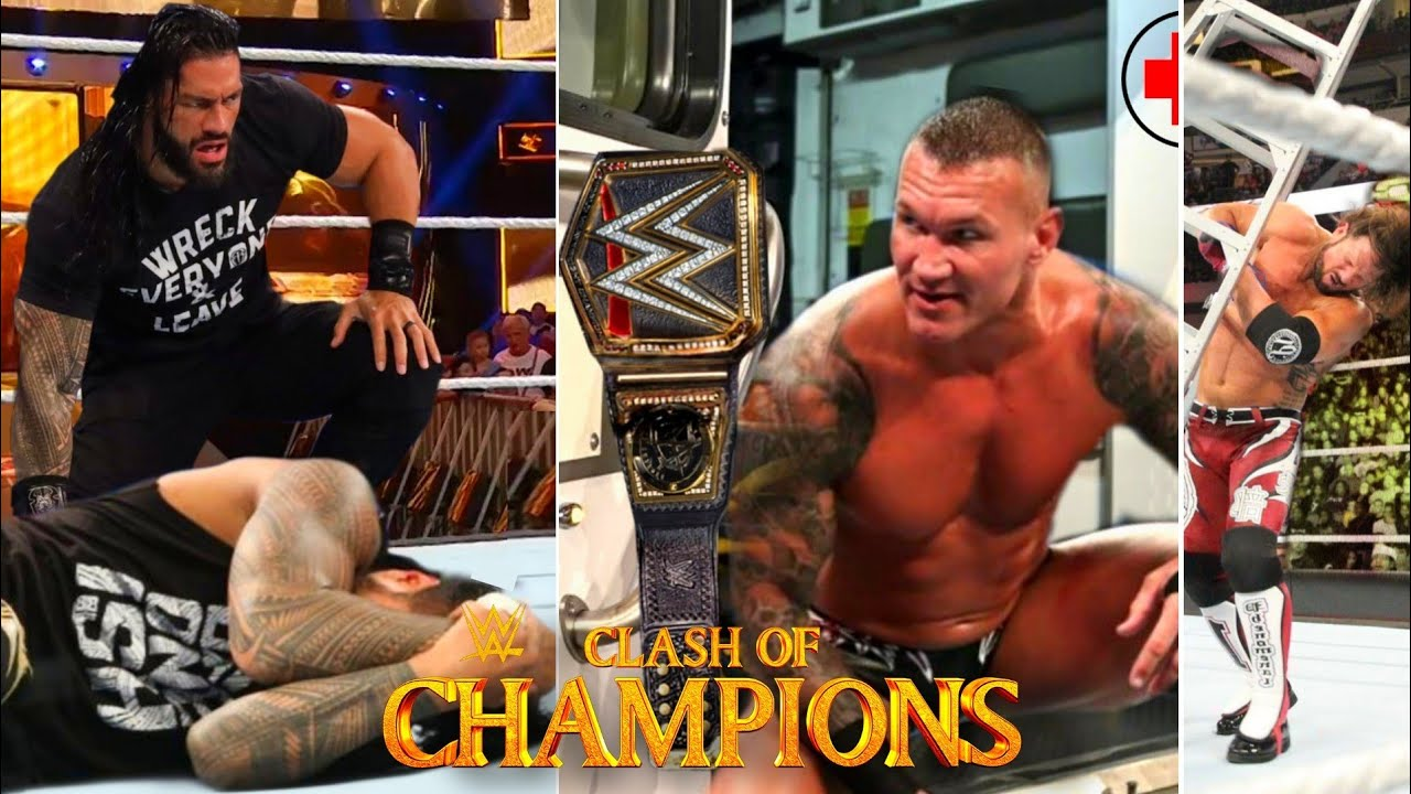 WWE Clash Of Champions 2020 Full Highlights And Results ! WWE Clash Of Champions 2020 Highlights !