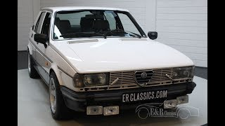 Alfa Romeo Giulietta 2.0 1982 -VIDEO- www.ERclassics.com