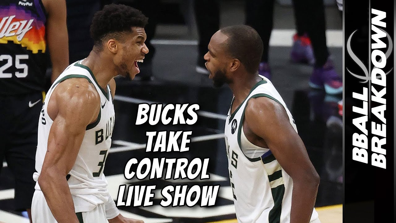 The Bucks Take Control Of The Series   LIVE Green Room Show