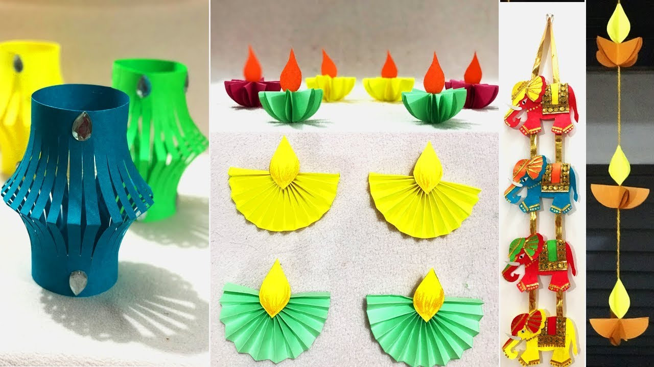 5 Very Easy Diwali Decoration Ideas 2018 | DIY Home Decor