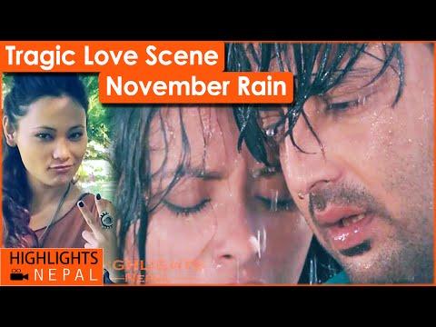Tragic Love Scene   Nepali Movie NOVEMBER RAIN   Aryan Sigdel, Namrata Shrestha