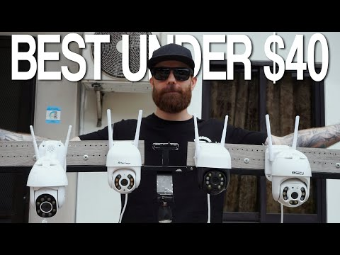 Which camera under $40 is best? Cheap outdoor WiFi PTZ IP security camera comparison