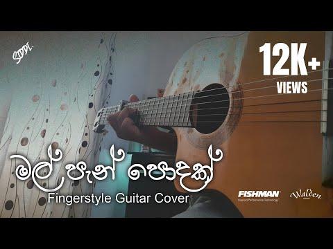 Mal Pan Podak (මල් පැන් පොදක්) - Bns - Guitar Cover