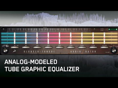 Blonder-Tongue Audio Baton | Real-time Tube Graphic EQ Plugin