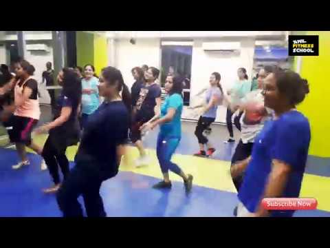 Coca Cola Tu, Fitness dance video, Weight loss, Besic steps, easy workout,