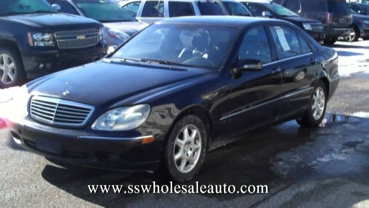 2002 mercedes benz s500 black on black navigation great. Black Bedroom Furniture Sets. Home Design Ideas