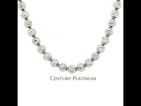 世紀白金 PT950 鉑金項鍊 白金項鍊WNA014  (約53cm) 稀有鉑金 永恆純淨