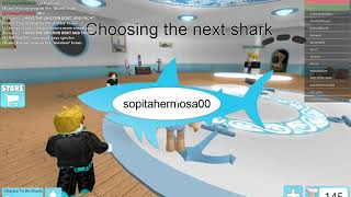 Untitled Playing Shark Bite (roblox)
