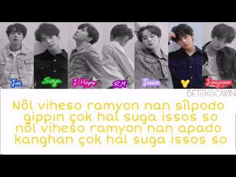 BTS - FAKE LOVE [Kolay okunuş]