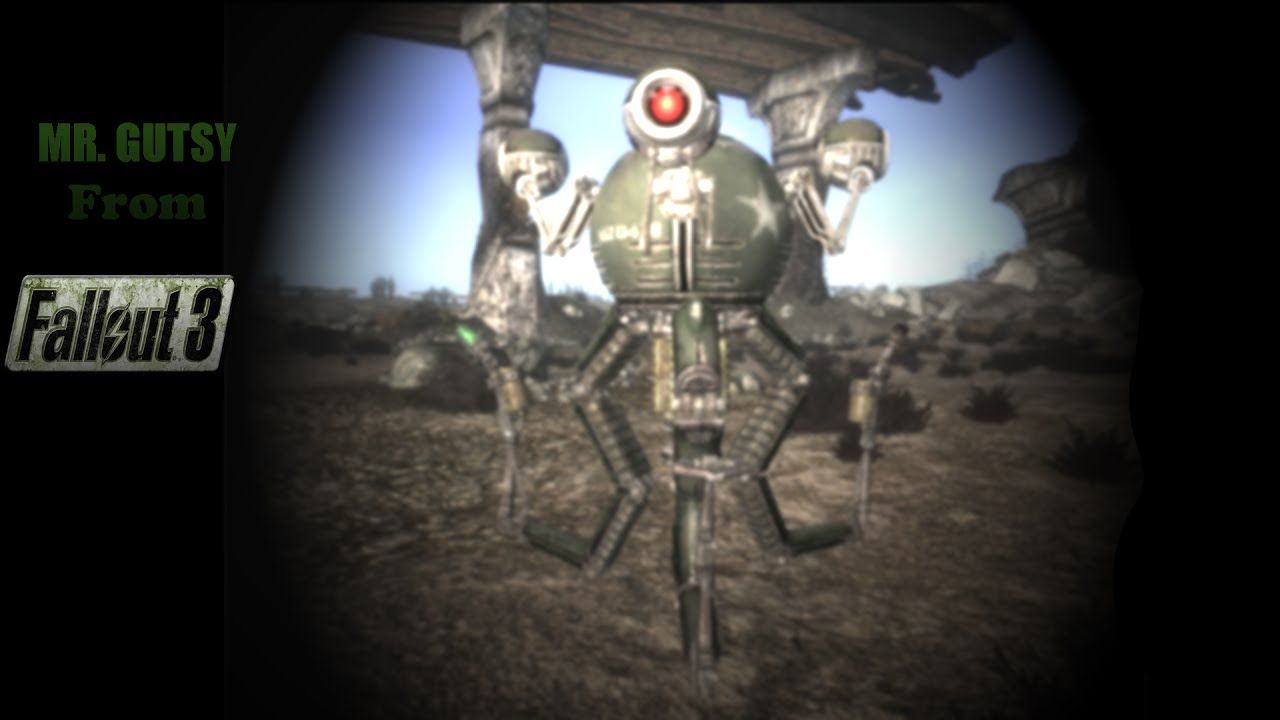 [Pac 3] Outfit ` Mr  Gutsy from Fallout3 `