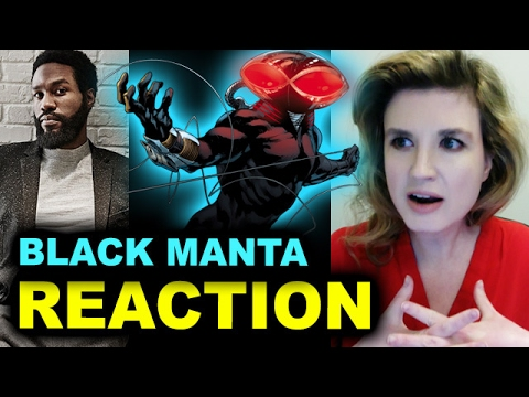 Aquaman 2018 Black Manta - Yahya Abdul-Mateen II - REACTION streaming vf