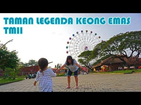 TAMAN LEGENDA KEONG EMAS - Taman baru yang HITS di TMII (full HD)