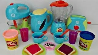 JUST LIKE HOME Deluxe KITCHEN Appliance Full Set with Play-doh thumbnail