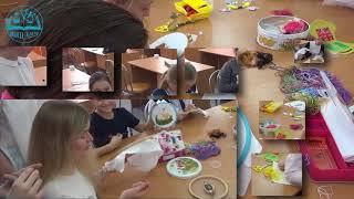 Урок технологии  Учимся вышивать   #школа2120