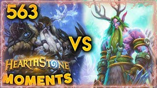 Druid Is Tired Of Himself?? | Hearthstone Daily Moments Ep. 563