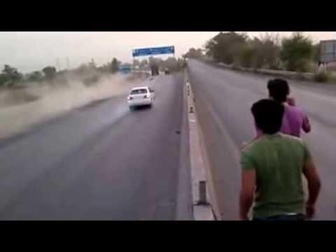 Motorbike Wheeler Accident