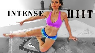 Destroyer Workout HIIT INTENSE Glutes Legs Weight Loss Metabolism