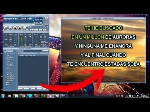 Karaokes parar Windows y Mac - Miles de canciones