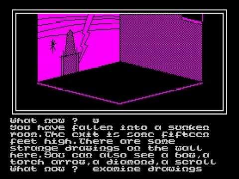 Karyssia: Queen of Diamonds Walkthrough, ZX Spectrum