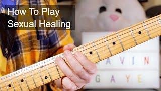 'Sexual Healing' Marvin Gaye Guitar Lesson