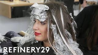 I Bleached My Box Dyed Red Hair | Hair Me Out | Refinery29