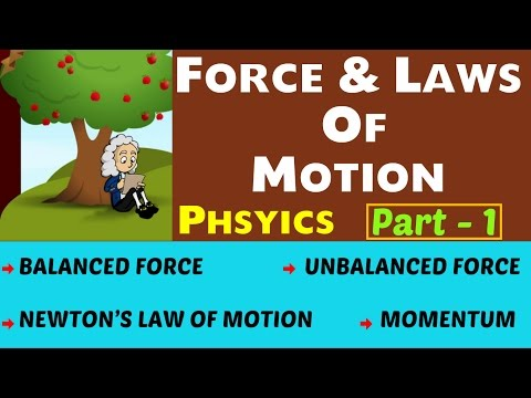 Force & Laws of Motion Important Physics Lecture -2.1 (SSC , UPSC , CDS , PSC and other Govt)