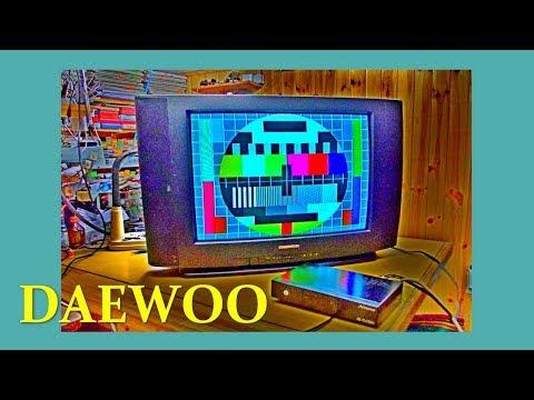 Ремонт телевизора без паяльника. Руки и нос в помощь. DAEWOO DMQ-2195.