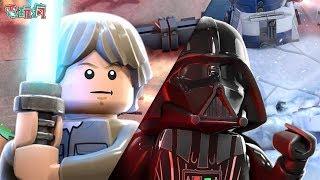《樂高星際大戰 死鬥 LEGO® Star Wars™ Battles》手機遊戲 化身路克天行者與達斯維達展現原力