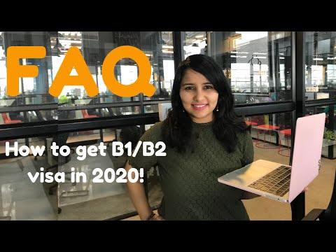 FAQ And Tips For USA B1/B2 VISA For Indians  | New 2020 Updated | Shachi Mall