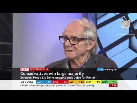 Ken Loach on BBC Election 2019 - 13/12/19