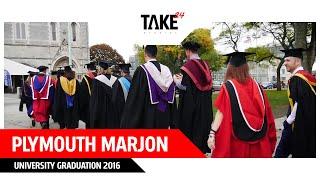 Plymouth Marjon University Graduation 2016