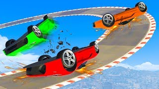RACING ON OUR ROOFS?! - GTA 5 Funny Moments