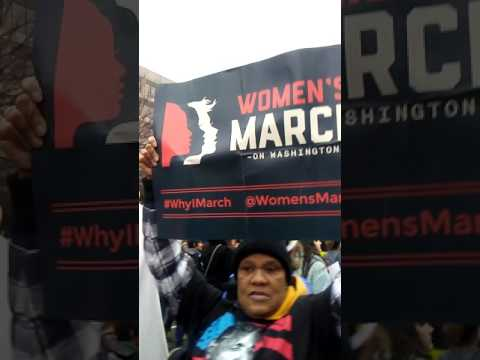 Water rights activist and my Women's March friend