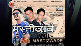 Latest non stop pahari song | mastizaade vol. 2 by veer & toshi | music hunterz